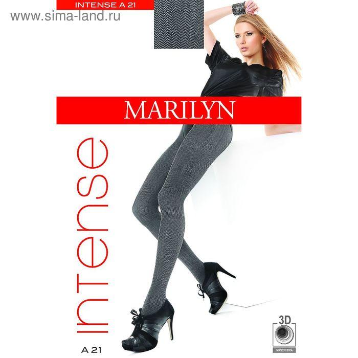 Колготки женские MARILYN INTENSE A21 60 (botello/black, 1/2)