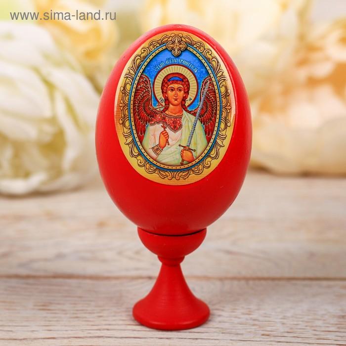 """Яйцо на подставке """"Ангел Хранитель"""",10 х 5 см"""