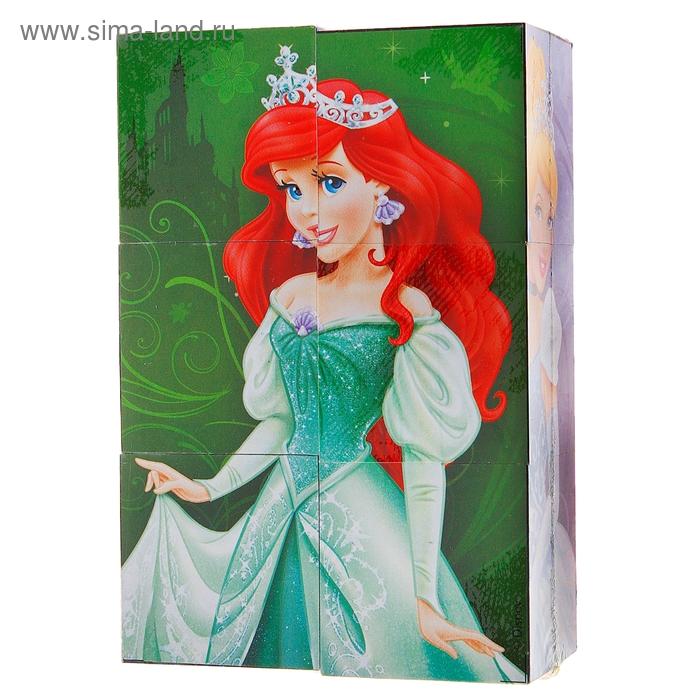 """Набор из шести кубиков """"Принцессы"""""""