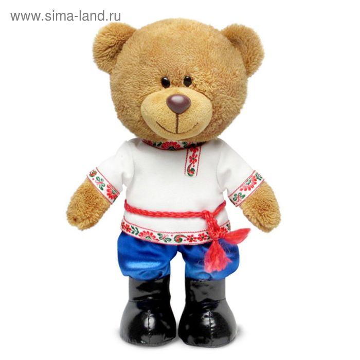 Мягкая игрушка «Медведь Оливер в русском наряде» музыкальная