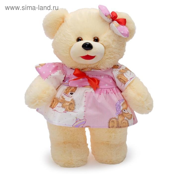 """Мягкая игрушка """"Медведь в платье стоит"""", МИКС"""