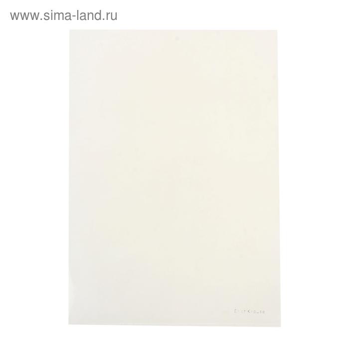 Папка-уголок A4, набор 10 штук, Clear Standard L-FILE, прозрачный, EK 14759