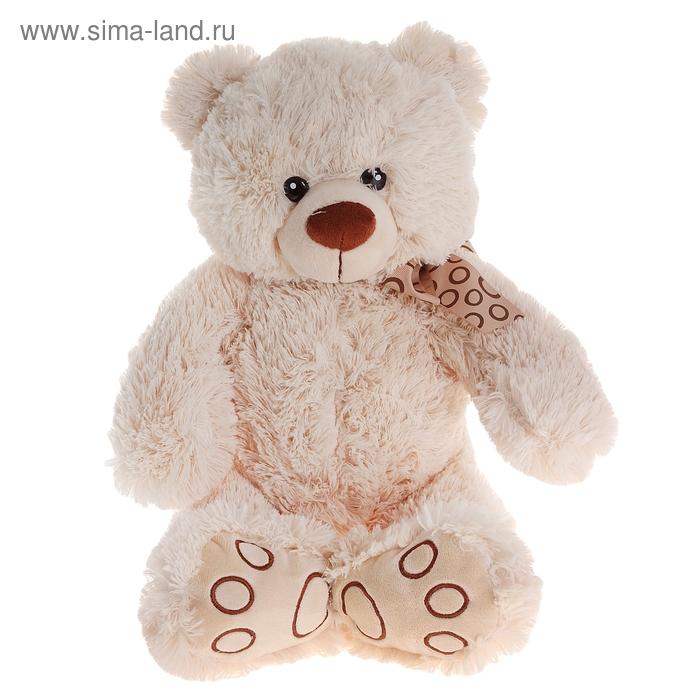 """Мягкая игрушка """"Медвежонок Тони"""" молочный"""