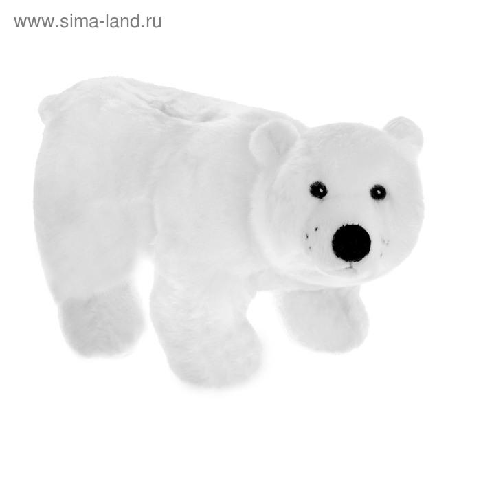 """Мягкая игрушка """"Полярный Мишка"""" белый"""