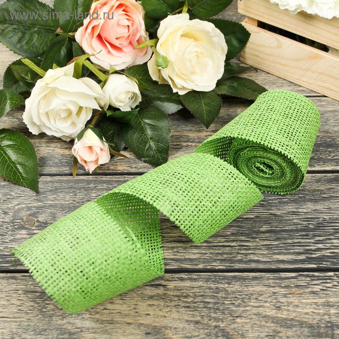 Лента упаковочная, цвет зелёный