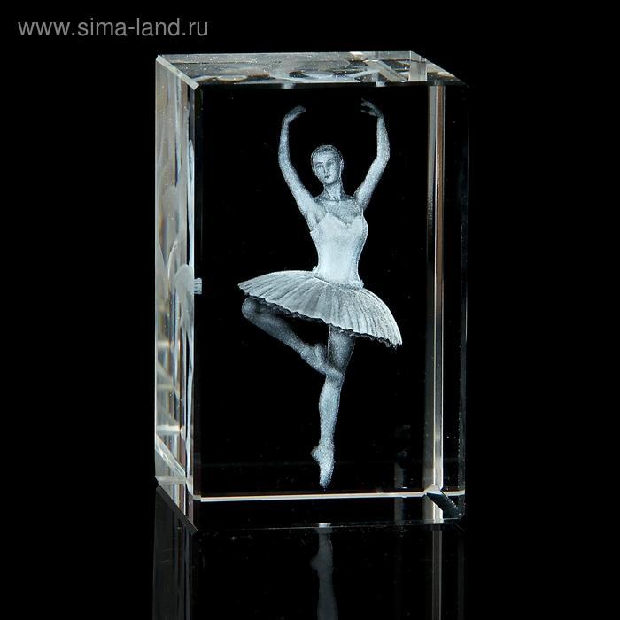 """Сувенир кристалл """"Балерина"""""""