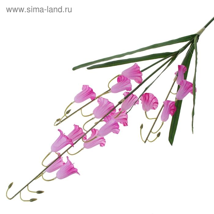 """Цветы искусственные """"Розовый абутилон"""""""