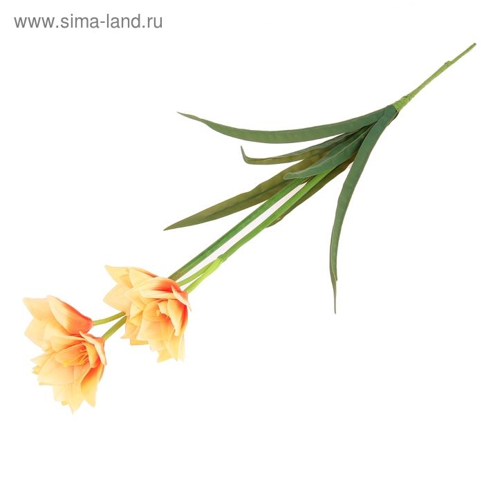 """Цветы искусственные """"Оранжевые шафраны"""""""