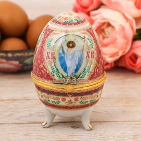 """Яйцо-шкатулка """"Воскресение Христово"""""""