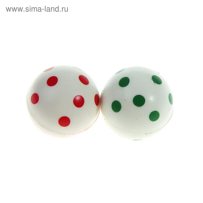 """Мяч каучук """"Горошек"""" 3,5 см, цвета МИКС"""