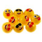 """Мяч каучук """"Смайлики"""" 3,2 см, цвета МИКС"""
