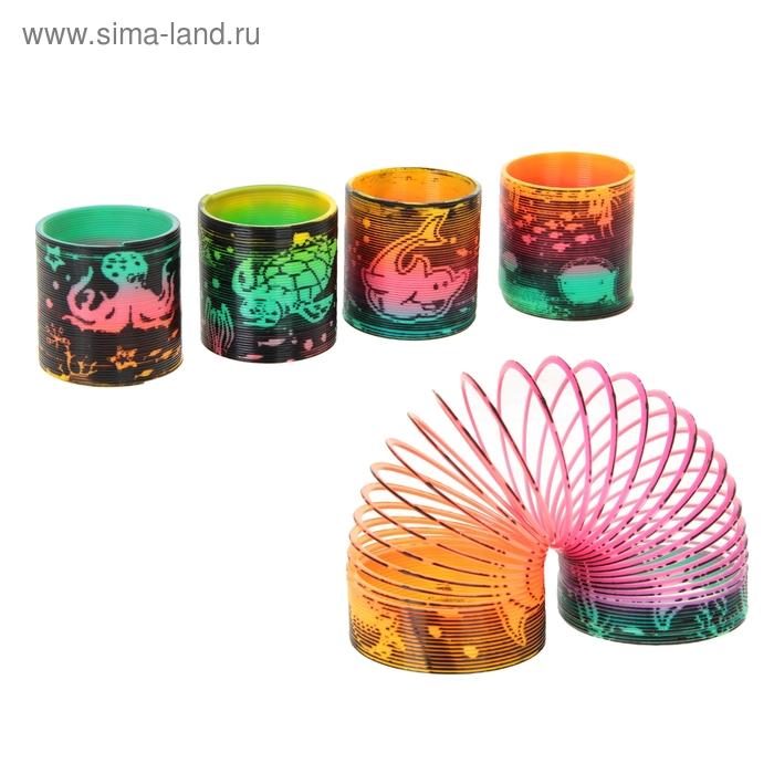 """Пружинка-радуга """"Морские животные"""", цвета МИКС"""