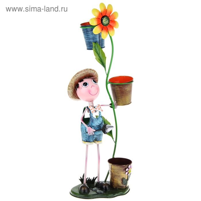"""Садовая фигура с кашпо """"Труди"""""""