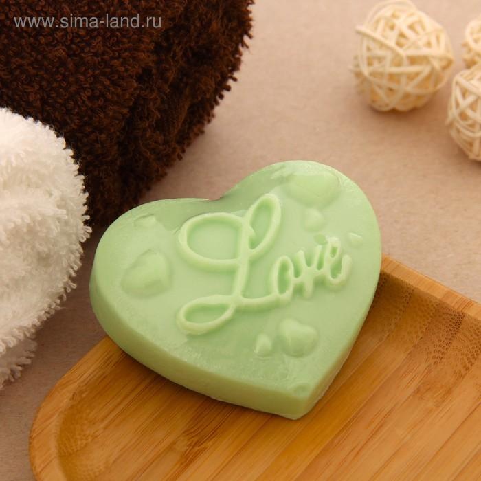 """Мыло сувенирное """" Love"""", цвета МИКС"""