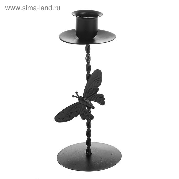 """Подсвечник """"Бабочка"""" для узкой свечи"""