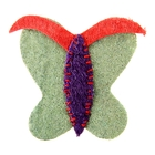 """Игрушка из люфы """"Бабочка"""", 8,5 см, микс цветов"""