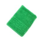 Полотенце махровое однотонное Антей цв клас.зеленый 50*90см 100% хлопок 400 гр/м