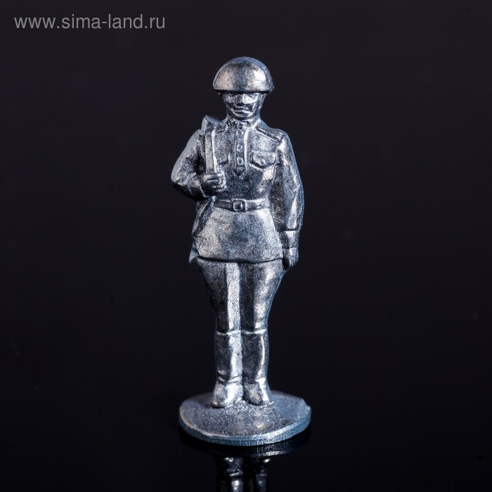 "Оловянный солдатик ""Советский солдат"""