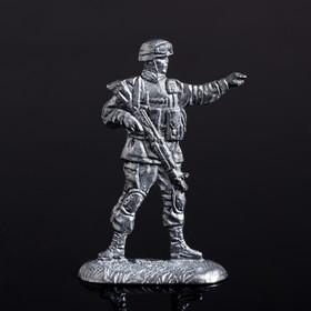 """Оловянный солдатик """"Командир"""""""
