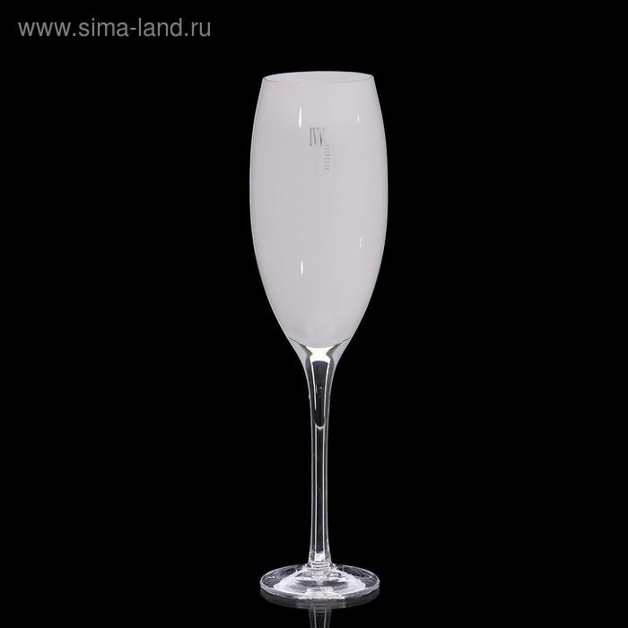 """Бокал для шампанского """"Мечта"""" белый, 330 мл"""