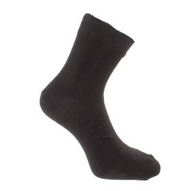 Носки мужские 614 цвет чёрный, р-р 27-29 (р-р обуви 42-45)