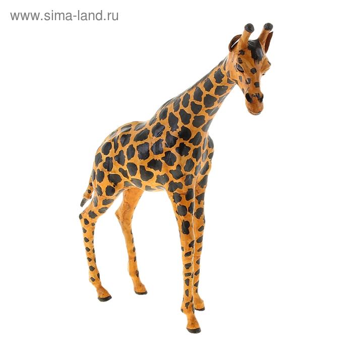 """Сувенир """"Жираф"""", обтянутый кожей"""