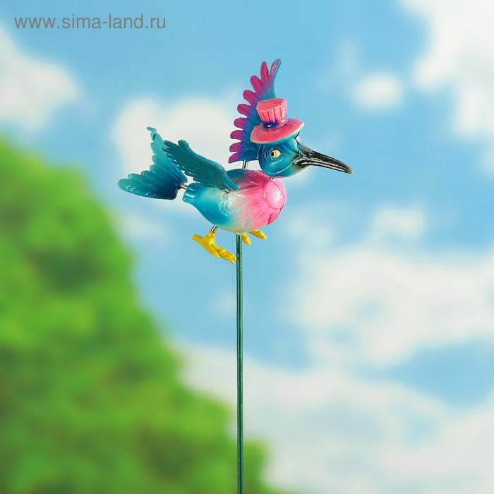 """Декоративный штекер """"Важная птица"""" микс"""