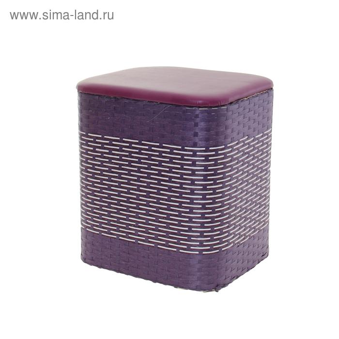Пуф-короб, цвет фиолетовый