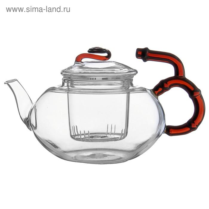 """Чайник заварочный со стеклянным ситом """"Торино"""" 450 мл"""