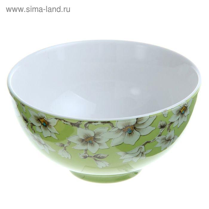 """Миска """"Нарцисс"""" 250 мл, цвет зеленый"""