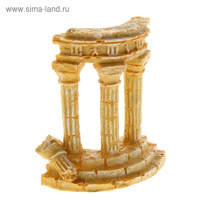 "Аквадекор ""Античные руины"", 15 х 13,5 х 7 см"