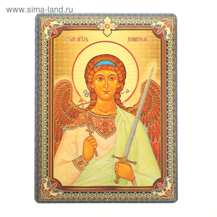 """Икона """"Святой Ангел Хранитель"""", 3D, с клеящейся основой"""