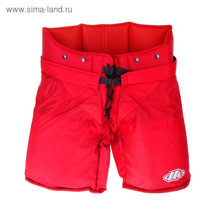 Шорты вратаря, размер 40, цвет: красный