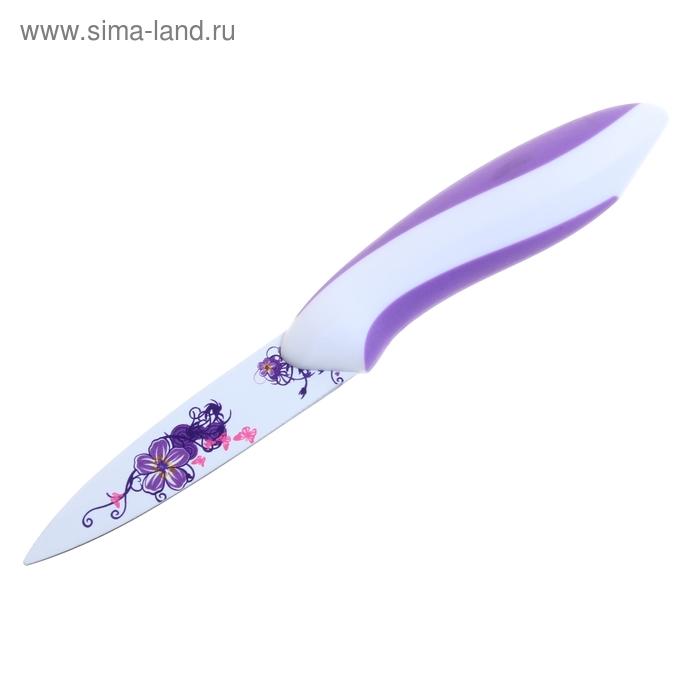 """Нож с антиналипающим покрытием 8,5 см """"Истрия"""""""
