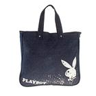 Сумка молодежная для девочки Playboy 44*40*10см шопер