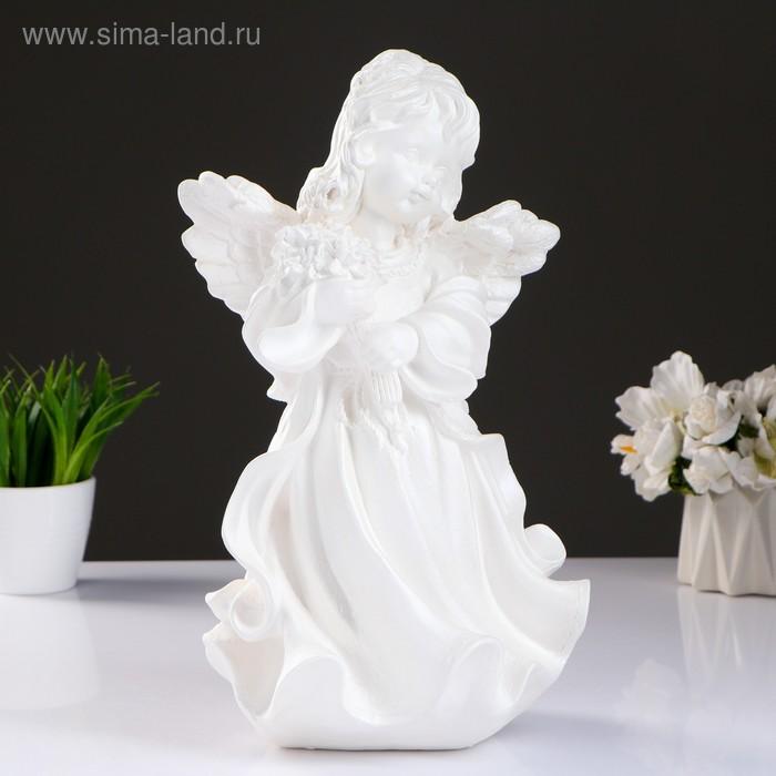 """Статуэтка """"Ангелина"""" белый"""