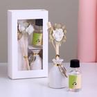 """Подарочный набор с аромамаслом 15 мл """"Ваза с цветком"""", аромат жасмин"""