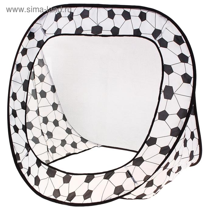 """Игровая палатка """"Ворота"""", цвет черно-белый"""