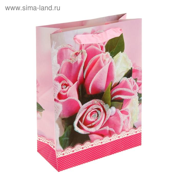 """Пакет ламинированный """"Букет роз"""""""