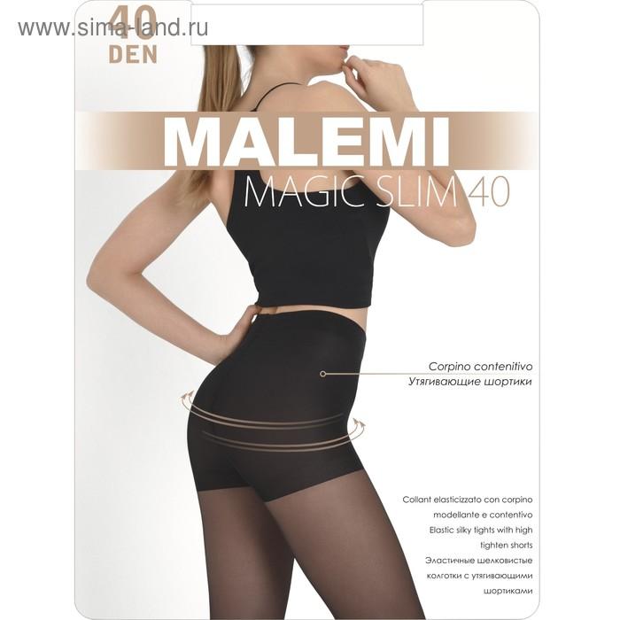 Колготки женские MALEMI Magic Slim 40 (nero, 3)