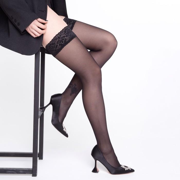 Чулки MALEMI Ninfa 40 (nero, 2)
