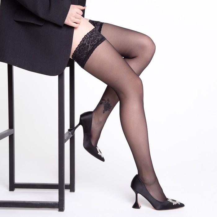 Чулки MALEMI Ninfa 20 (nero, 3)