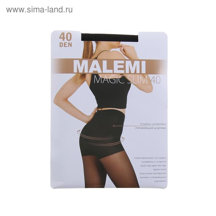 Колготки женские MALEMI Magic Slim 40 (nero, 2)