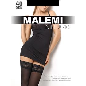 Чулки MALEMI Ninfa 40 (nero, 3)