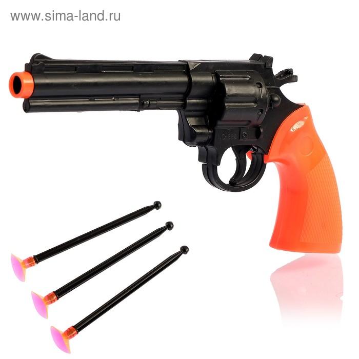 """Пистолет """"Ковбой"""", с кобурой, стреляет присосками"""
