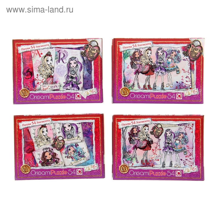 "Мини-пазл ""Ever After High"", 54 элемента"
