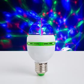 Лампа хрустальный шар диаметр 5,5 см., 220V, цоколь Е27 Ош