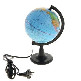 Глобус политический диаметр 150 мм, с подсветкой Ош