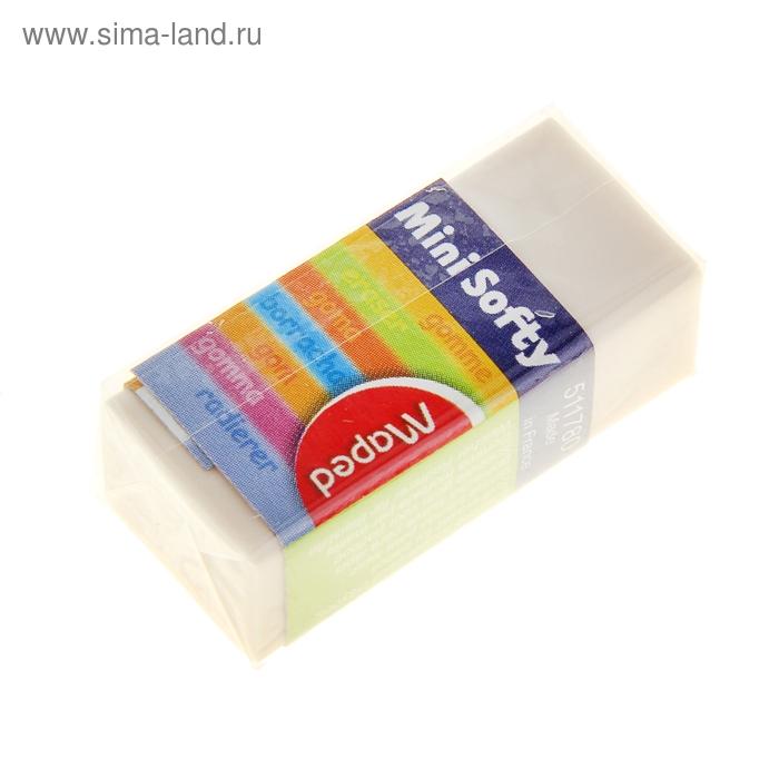 Ластик SOFTY, картонный держатель