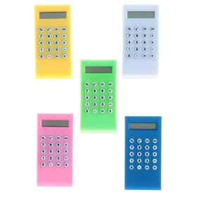 Калькулятор-зажим 8-разрядный корпус МИКС Ош